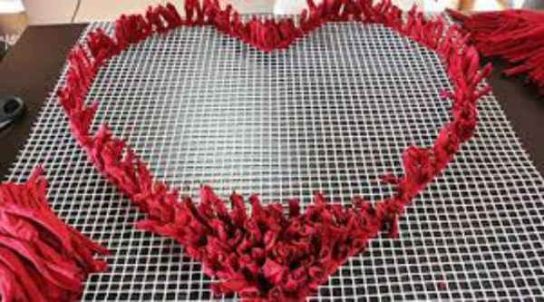 C mo hacer alfombras de trapillo las mejores ideas - Como hacer alfombras de nudos ...