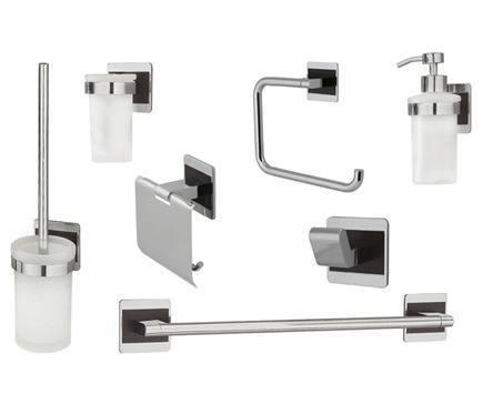 3 claves para tener un ba o moderno por poco dinero for Set de accesorios para bano