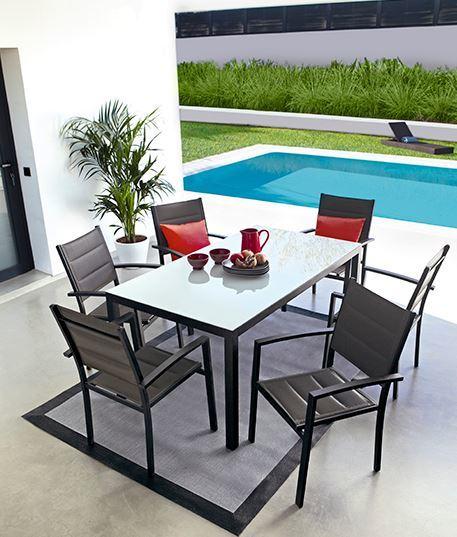 Tipos de muebles de jard n blogdecoraciones for Muebles de exterior aluminio