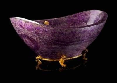 Rose Quartz Crystal Bathtub