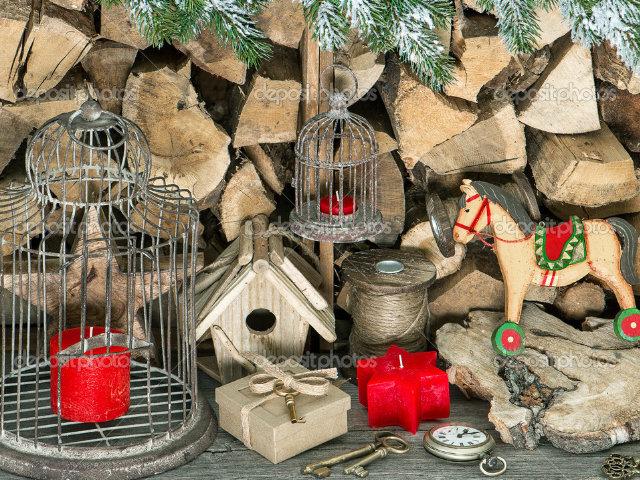 Arboles navidad decoracion adornos vintage blogdecoraciones - Decoracion navidad vintage ...