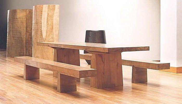 Bancos de madera blogdecoraciones - Bancos de madera para banos ...