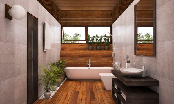 Ba os modernos de dise o 2017 blogdecoraciones for Banos modernos madera