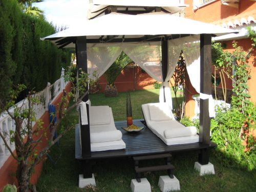 Camas balinesas o chill out for Chill out jardin