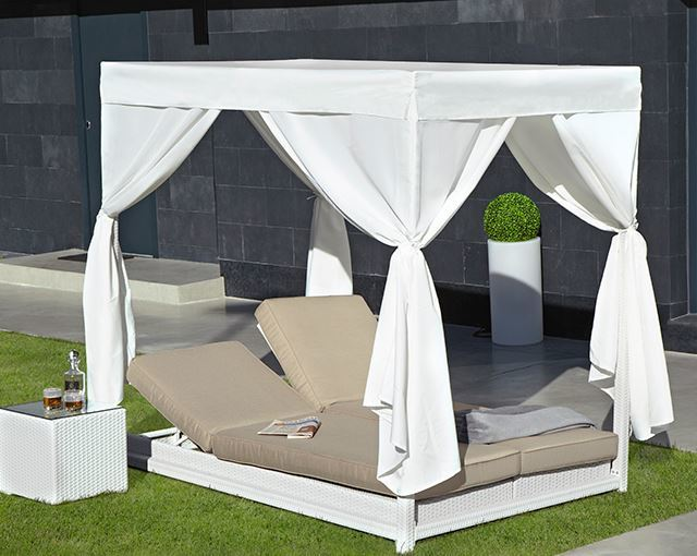 Camas balinesas o chill out for Camas balinesas para jardin