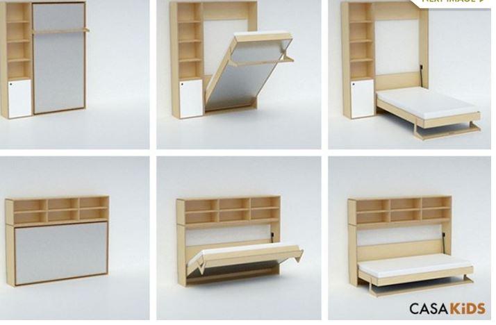 Hogarisimo camas plegables for Mueble que se hace cama