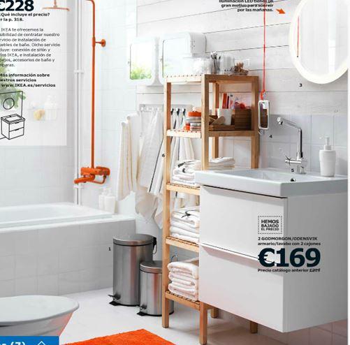Catálogo Ikea 2015 baños