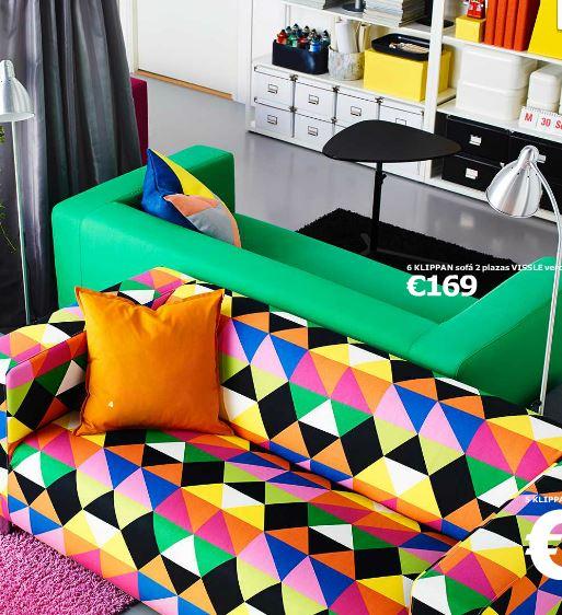 catálogo Ikea 2015 colores vivos