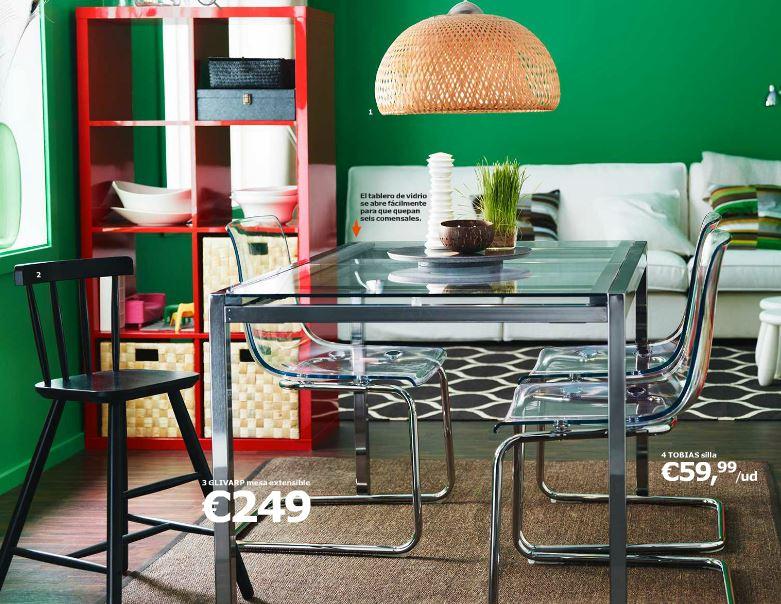 catálogo Ikea 2015-comedor