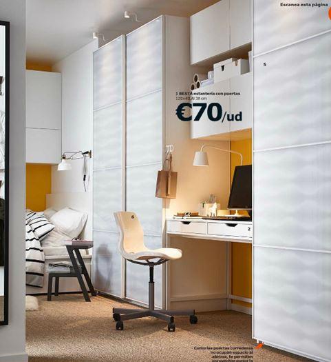 catálogo Ikea 2015 oficina en casa