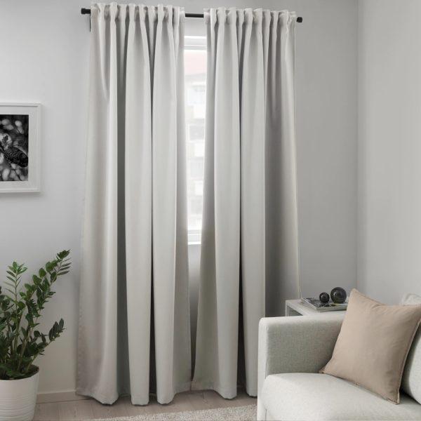 Catalogo ikea invierno 2021 cortina majgull salon