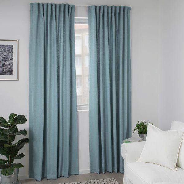 Catalogo ikea invierno 2021 cortina tibast dormitorio