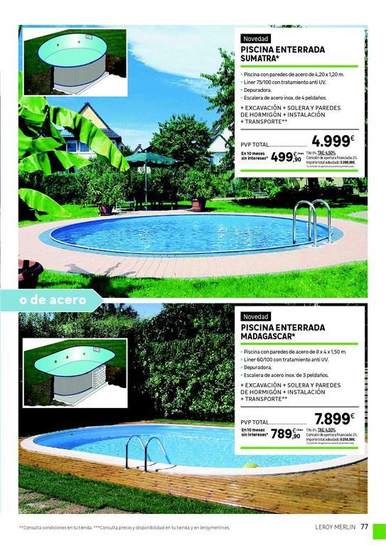 Leroy merlin cat logo de jard n 2019 blogdecoraciones - Bomba para piscinas leroy merlin ...