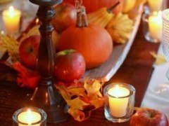 Centros de mesa para otoño fáciles (decoración Thanksgiving)