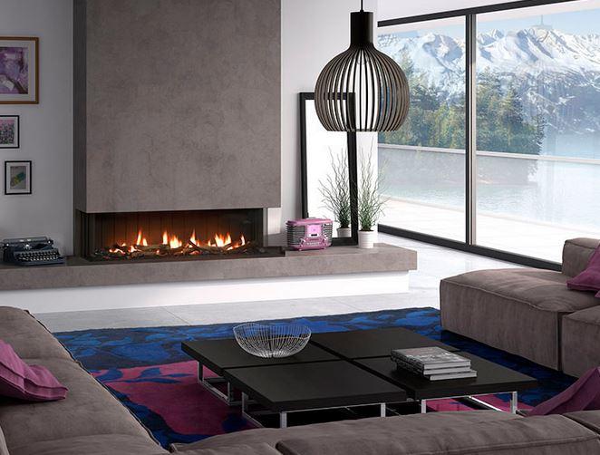 Chimeneas de gas ventajas e inconvenientes - Decoracion de chimeneas modernas ...