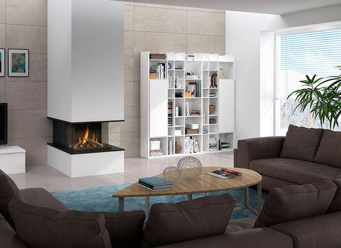 Chimeneas de gas ventajas e inconvenientes blogdecoraciones - Decoracion de chimeneas en salones ...