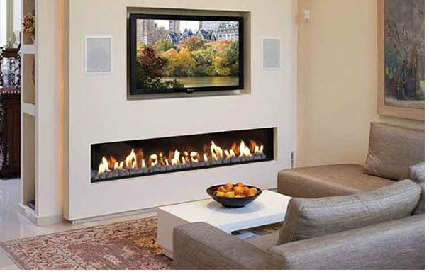 Chimeneas el ctricas modernas blogdecoraciones for Hogares modernos a gas