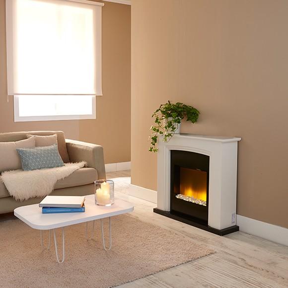Chimeneas el ctricas modernas blogdecoraciones - Modelos de chimeneas electricas ...