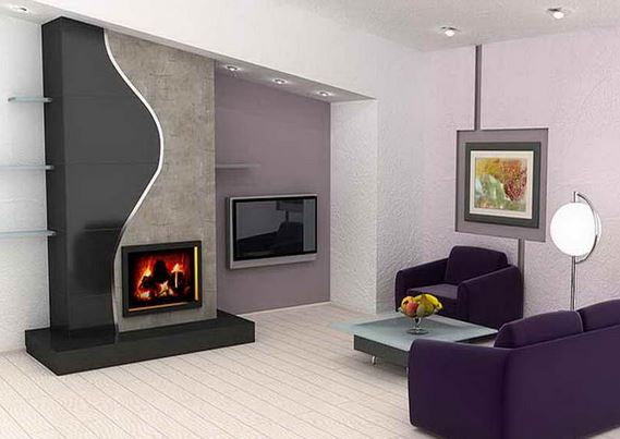 Chimeneas el ctricas modernas blogdecoraciones - Chimeneas artificiales decorativas ...