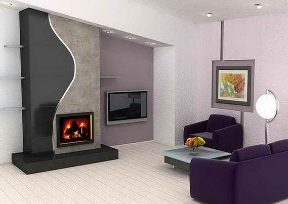 Chimeneas el ctricas modernas blogdecoraciones for Chimenea de gas en un piso