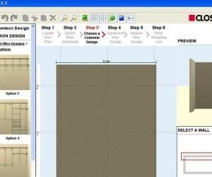 Software para el diseño de armarios