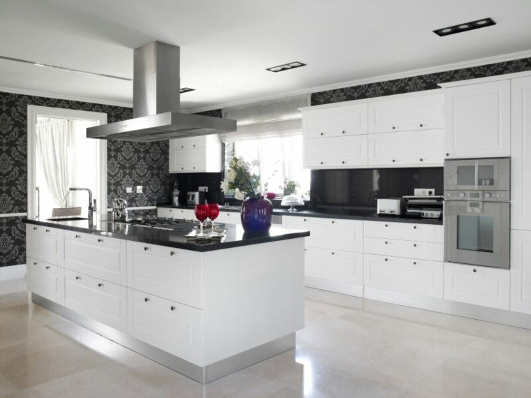 cocinas minimalistas colores y muebles blogdecoraciones - Cocina Minimalista