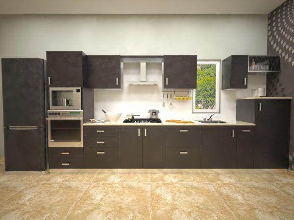 para los presupuestos ms amplios que se puedan permitir cambiar el alicatado optar por un suelo con efecto tablero de damas convertir a tu cocina en un - Cocinas Blancas Y Negras