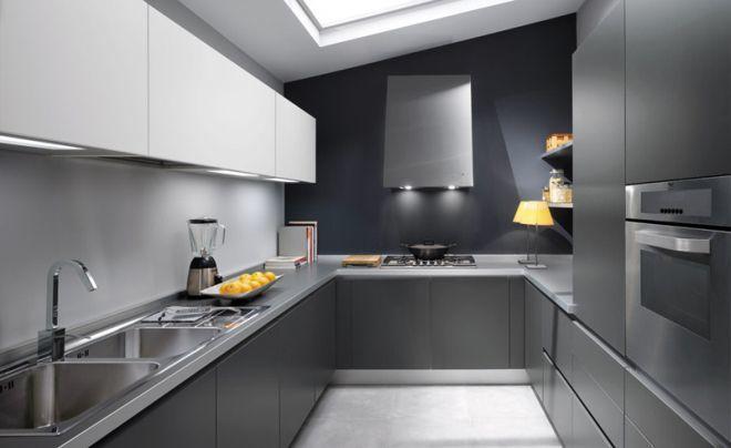 Los mejores diseños de cocinas grises 2019 - BlogDecoraciones