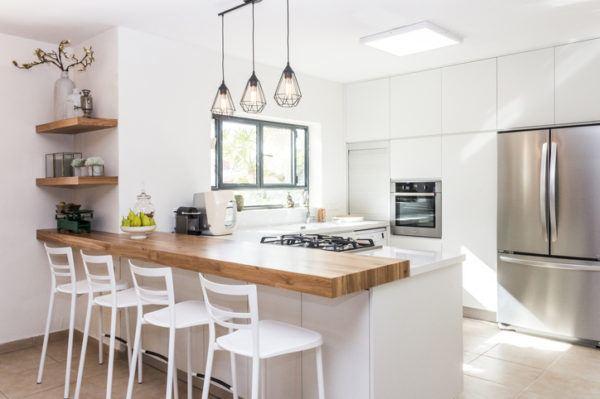 Cocinas modenras integrales frigo doble
