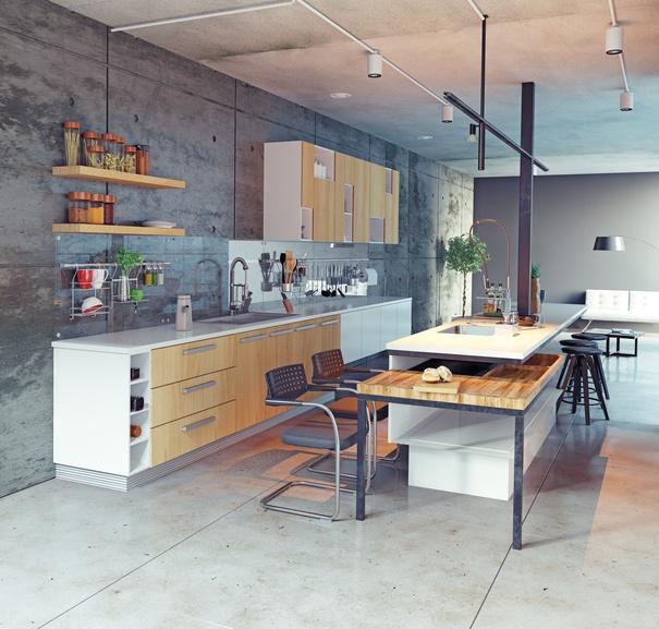cocinas integrales de cemento Cocinas Modernas E Integrales 2019 BlogDecoracionescom