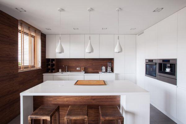 Cocinas modenras integrales madera