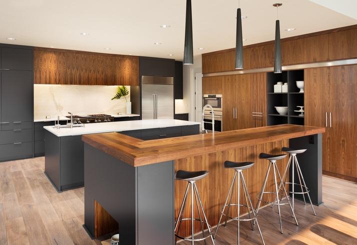 Cocinas modernas e integrales 2019 for Cocinas integrales modernas de madera