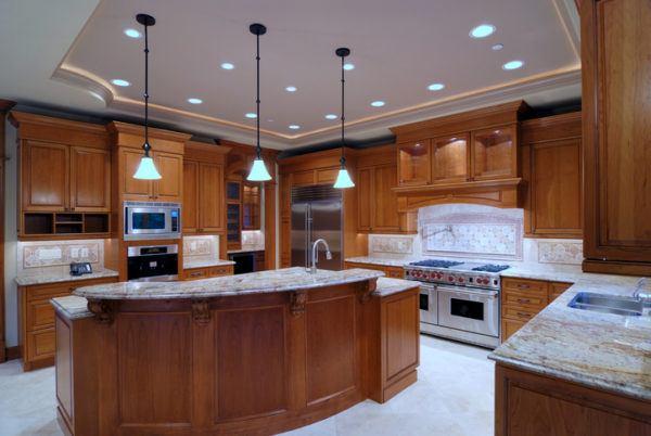 Cocinas rusticas de madera grande