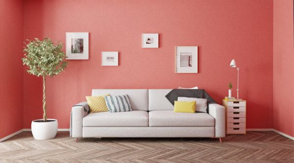 Colores que mejor combinan con el color coral en decoración