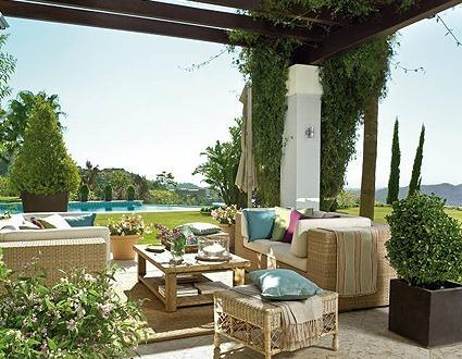 Tipos de muebles de jard n blogdecoraciones for Comedor jardin