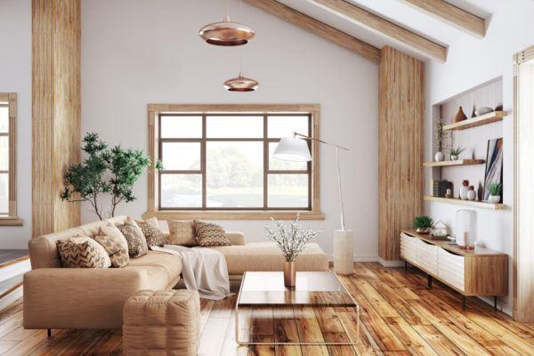 Como decorar con estilo farmhouse vigas_