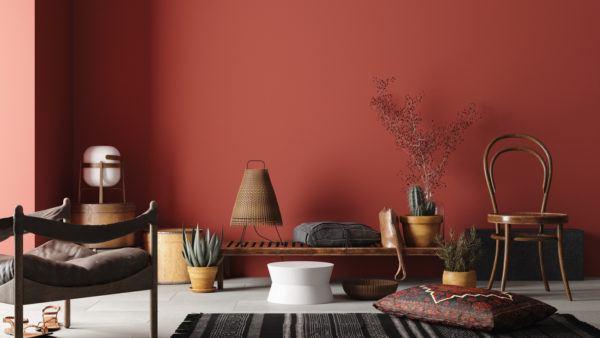 Como decorar la pared del sofa  pintura