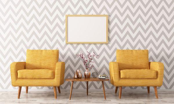 Como decorar papel pintado salon