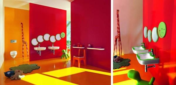 Como decorar un baño de niños