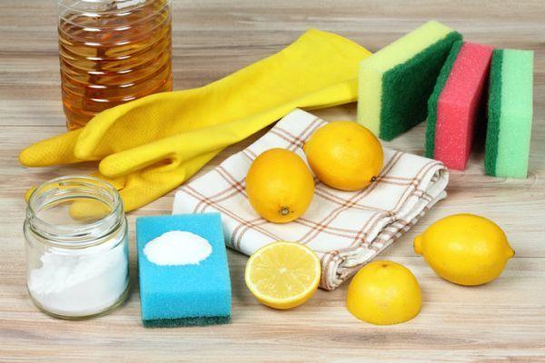 Limón y sal limpieza