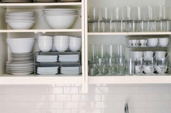 como organizar un armario cocina platos - Como Organizar Un Armario