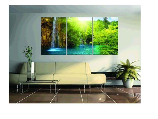 Cuadros sin marco ideas y fotos - Cuadros para salones minimalistas ...