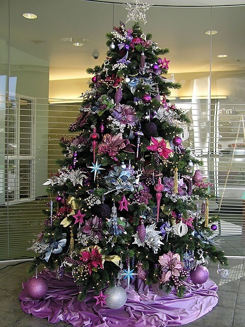 3 decoraciones de rboles de navidad tendencias 2016 - Decoracion arbol ...