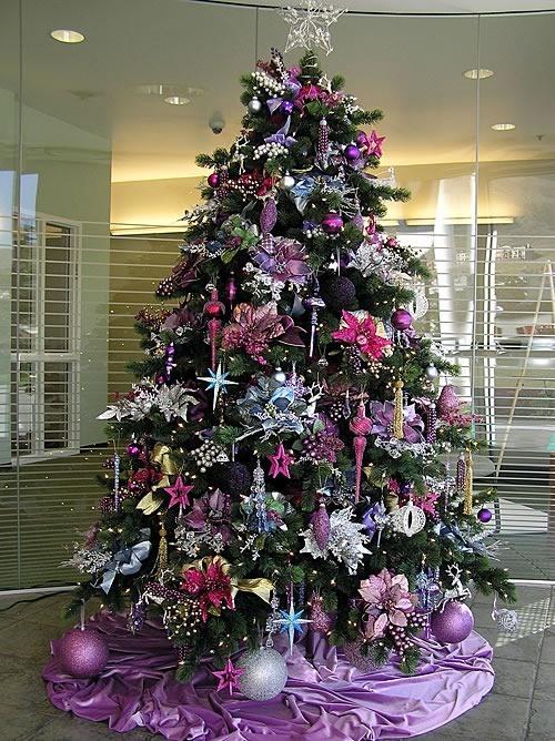 Rbol de navidad ideas para decorar rboles de navidad - Ideas para decorar estrellas de navidad ...