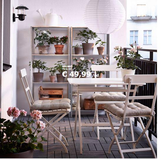 Hogarisimo decoraci n de balcones y terrazas peque as - Terrazas y balcones ...