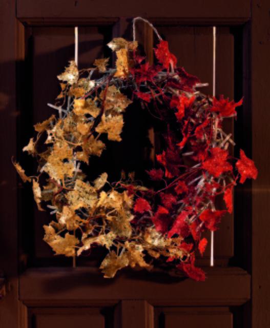 decoracion navidad corona