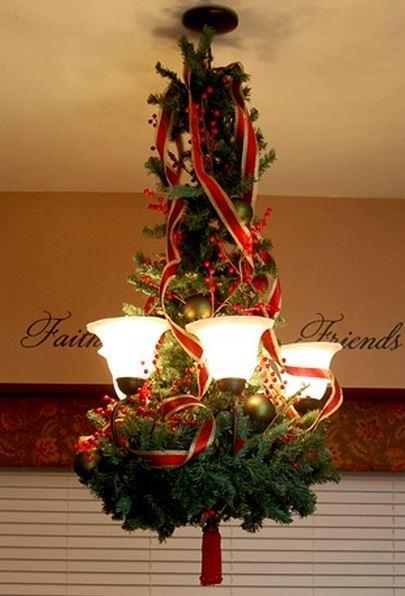 decoracion-navideña-lamparas