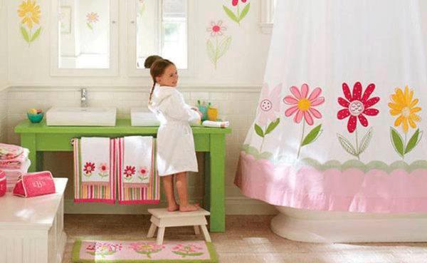 Cómo decorar un baño de niños - BlogDecoraciones