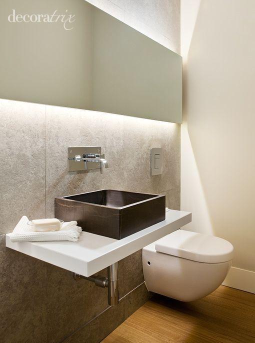 C mo decorar un ba o de invitados blogdecoraciones - Como decorar un bano pequeno moderno ...