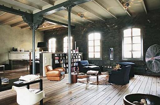 Muebles estilo industrial